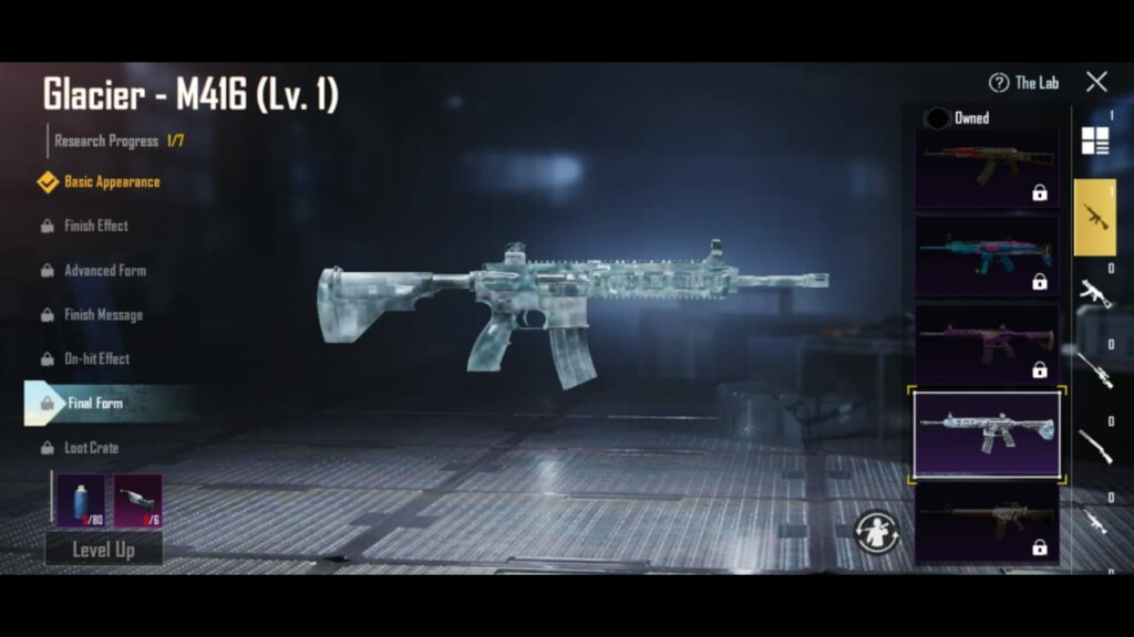 Top 5 upgradeable gun skins in BGMI