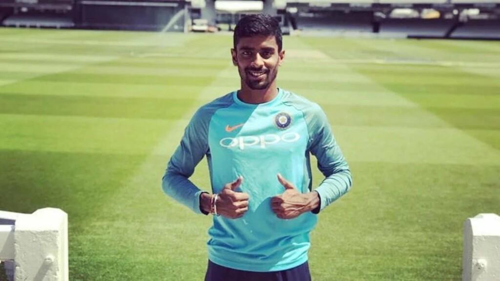 Gill injury replacement Abhimanyu Easwaran