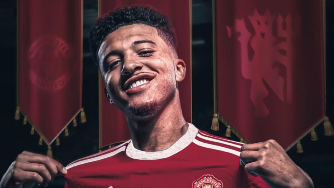 Official: Borussia Dortmund releases club statement confirming the transfer of Jason Sancho to Manchester United for €85 Million