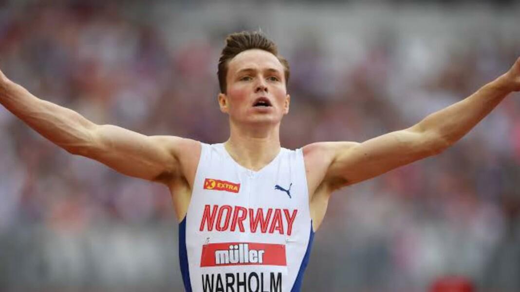 Karsten Warholm broke the 400m hurdles world record