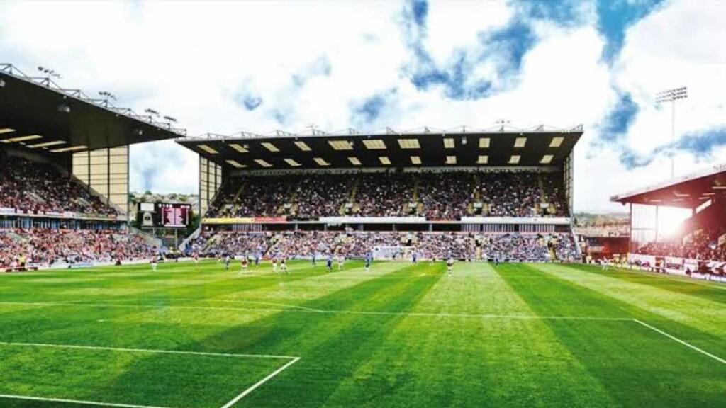 Turf Moor, home of FC Burnley