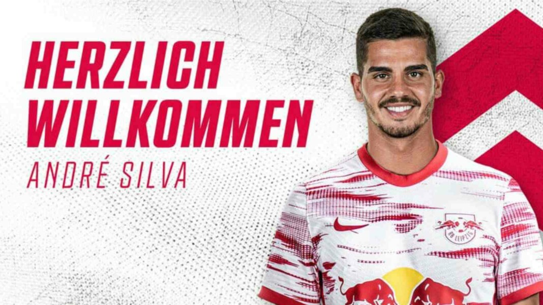 Breaking: RB Leipzig confirm the signing of Andre Silva from Bundesliga rivals Eintracht Frankfurt
