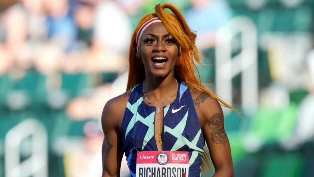 Sha'Carri Richardson, Usain bolt
