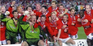 Manchester United- the club to win three consecutive Premier League