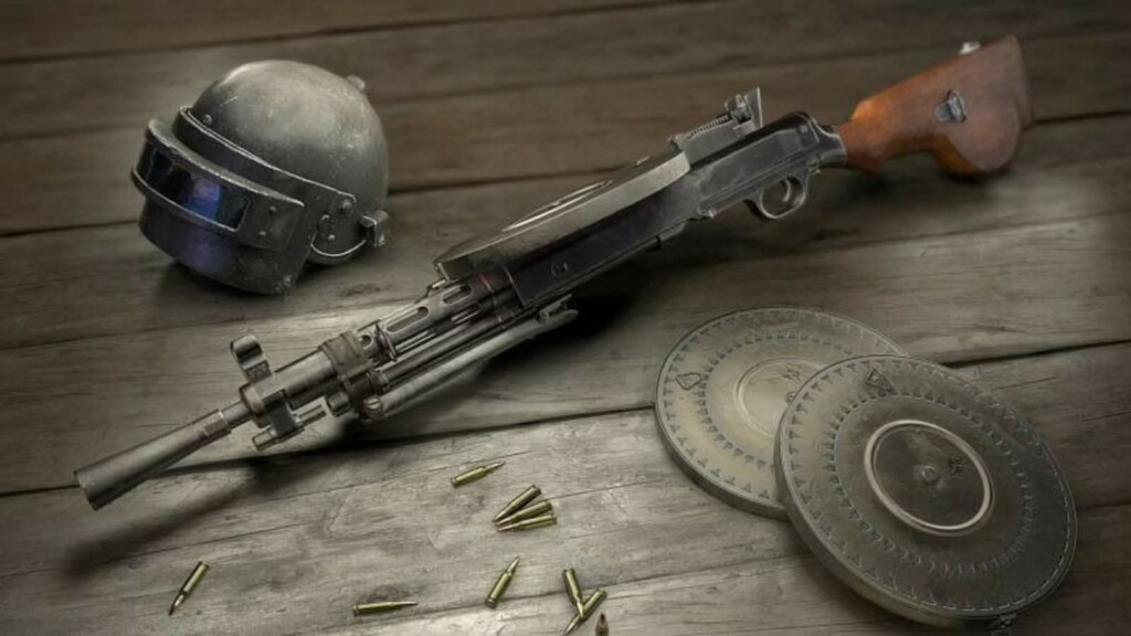 Top 5 guns with highest damage in BGMI