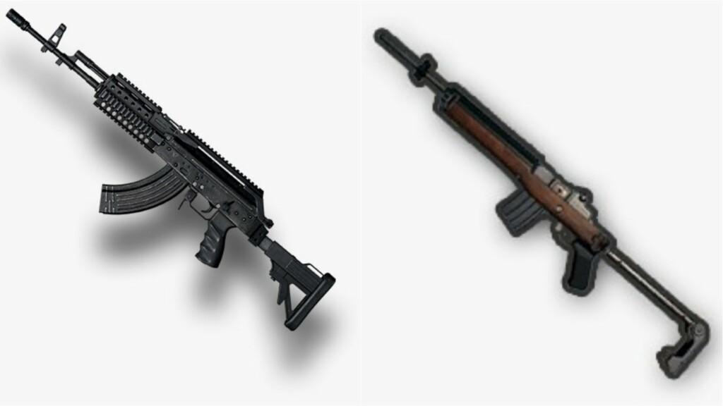 Best weapon combos in BGMI