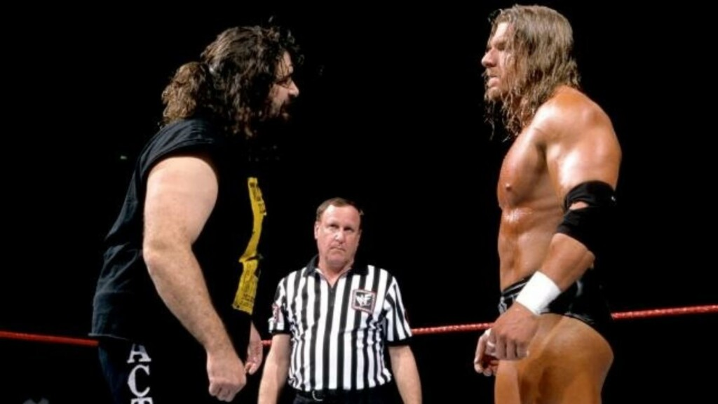 Triple H vs Mick Foley