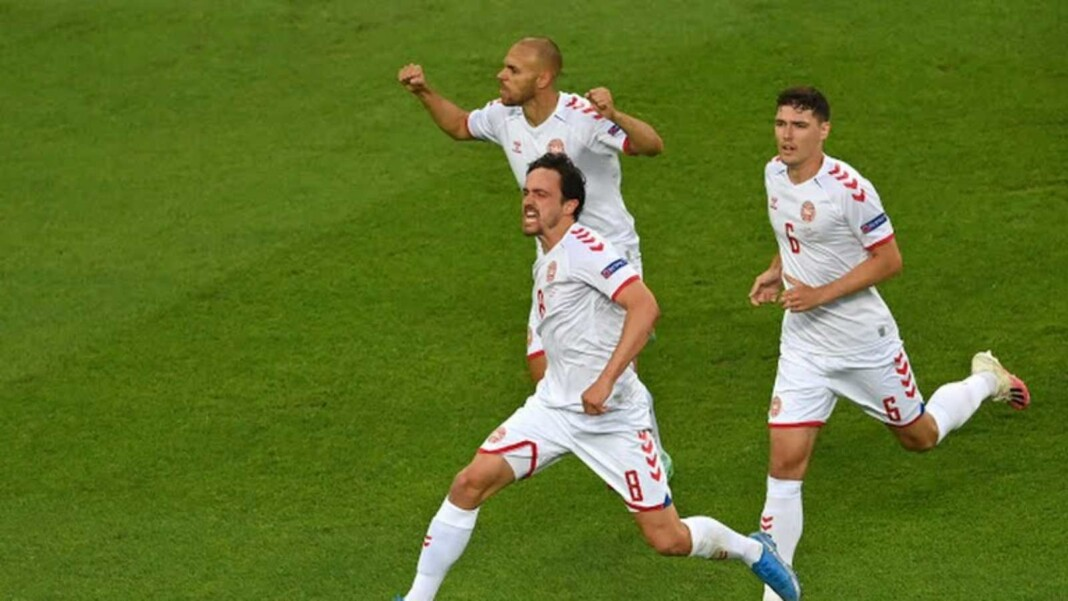 EURO 2020 Watch Czech Republic vs Denmark: Denmark scores twice and takes a 2-0 lead going into half-time