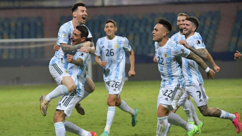 Argentina through to the semis of the Copa America 2021