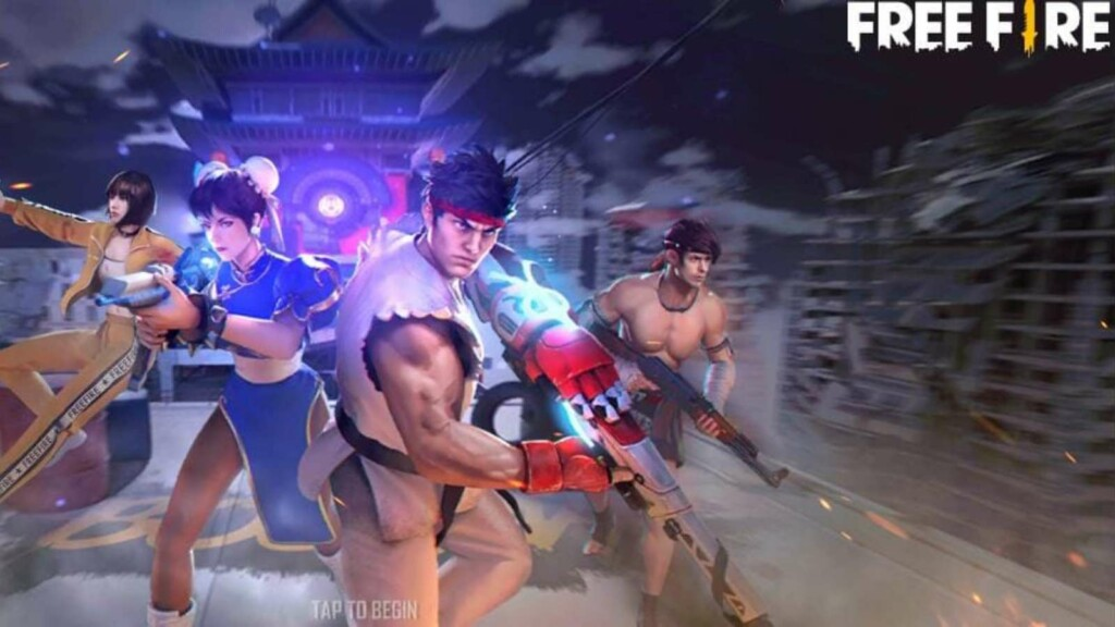 Free fire street fighter event