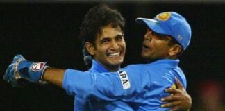 Irfan Pathan and Rahul Dravid