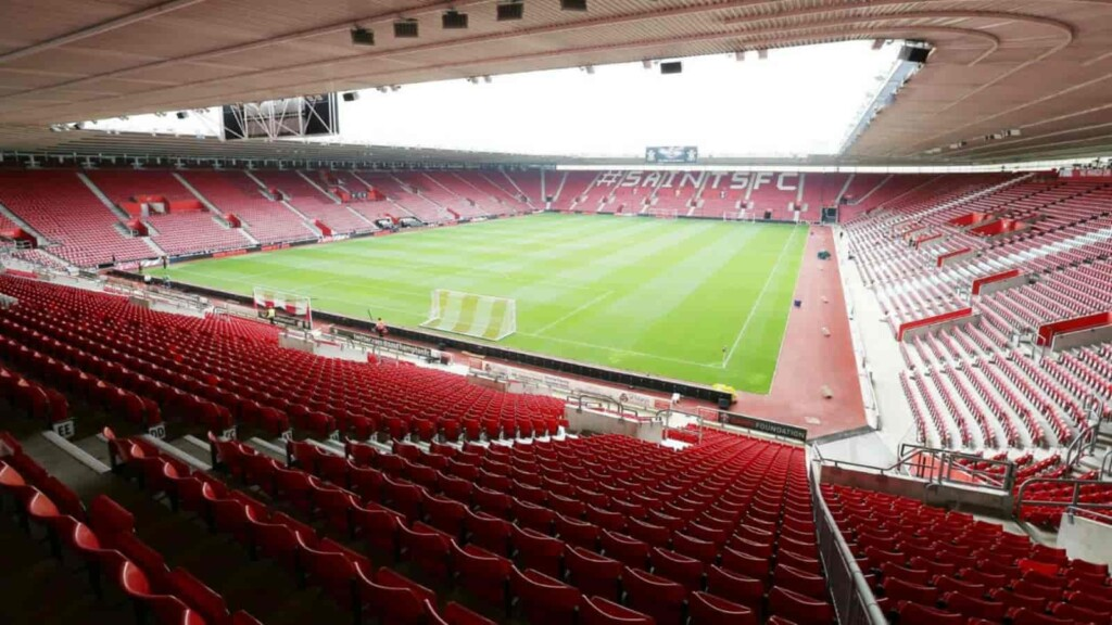 St. Mary's Stadium is the home ground of Southampton FC