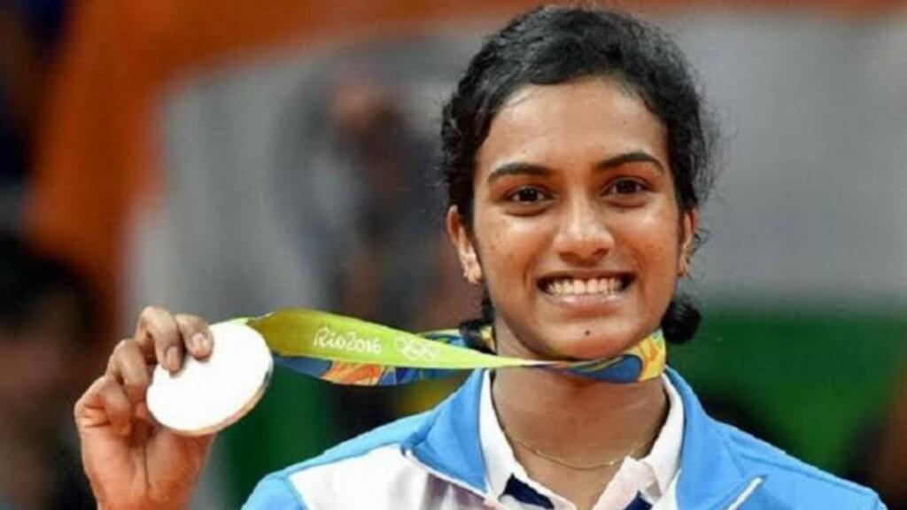 PV Sindhu won Silver medal at Rio Olympics