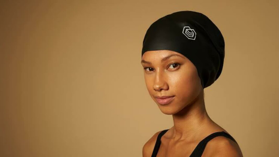 swimming caps specifically designed for black athletes
