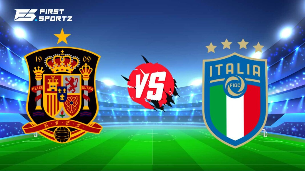 Spain vs Italy Live Commentary
