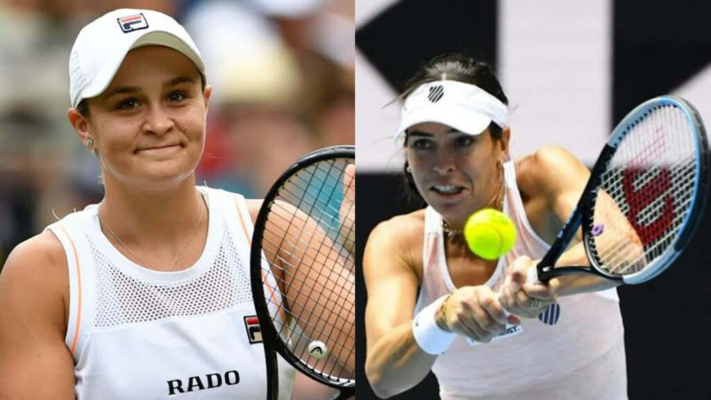 Ashleigh Barty and Ajla Tomljanovic