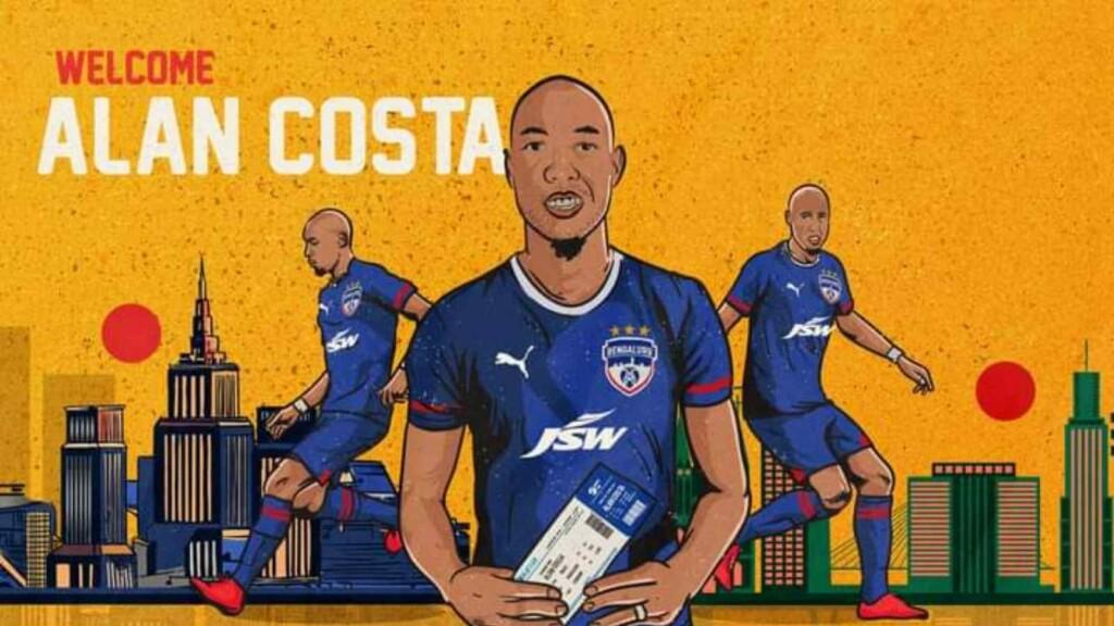 Alan Costa Joins Bengaluru FC