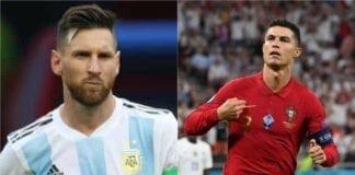 Cristiano Ronaldo, Lionel Messi, Pep Guardiola, Xavi Hernandez, Zinedine Zidane, Andres Iniesta