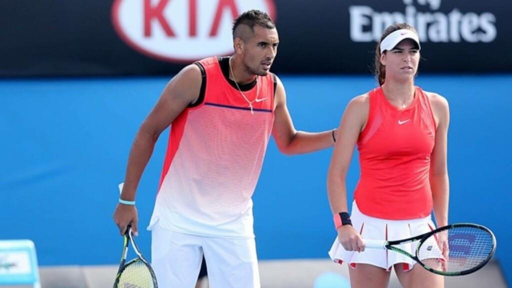 Nick Kyrgios and Ajla Tomljanovic