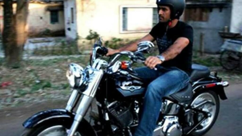 MS Dhoni Harley-Davidson Fatboy