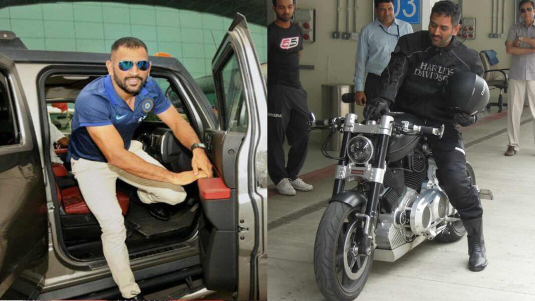 MS Dhoni's car and bike collection