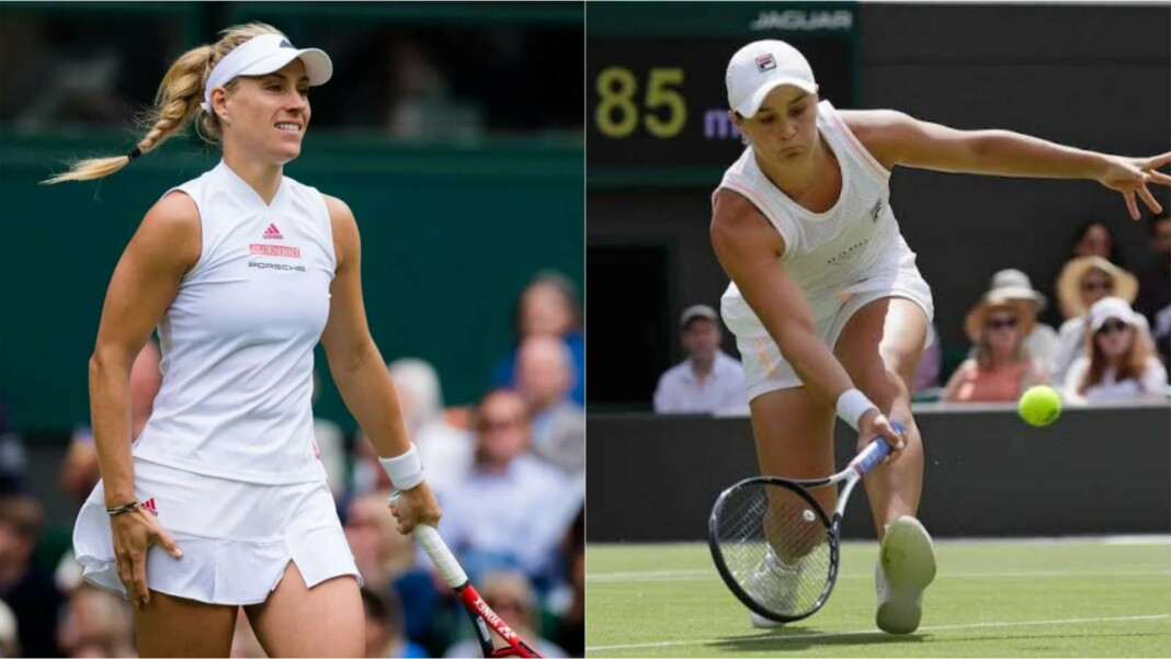 Angelique Kerber and Ashleigh Barty