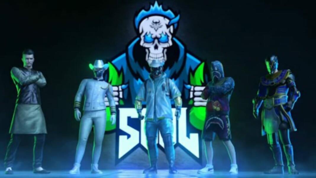 S8UL Esports announces it's lineup for BGMI