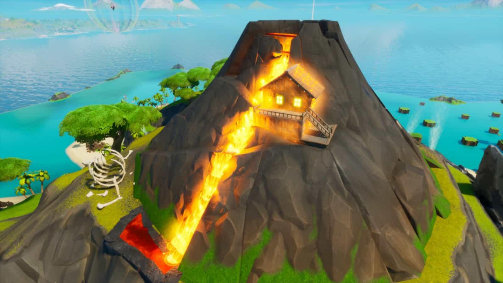 Fortnite Volcano Zone Wars: New Creative Map Code