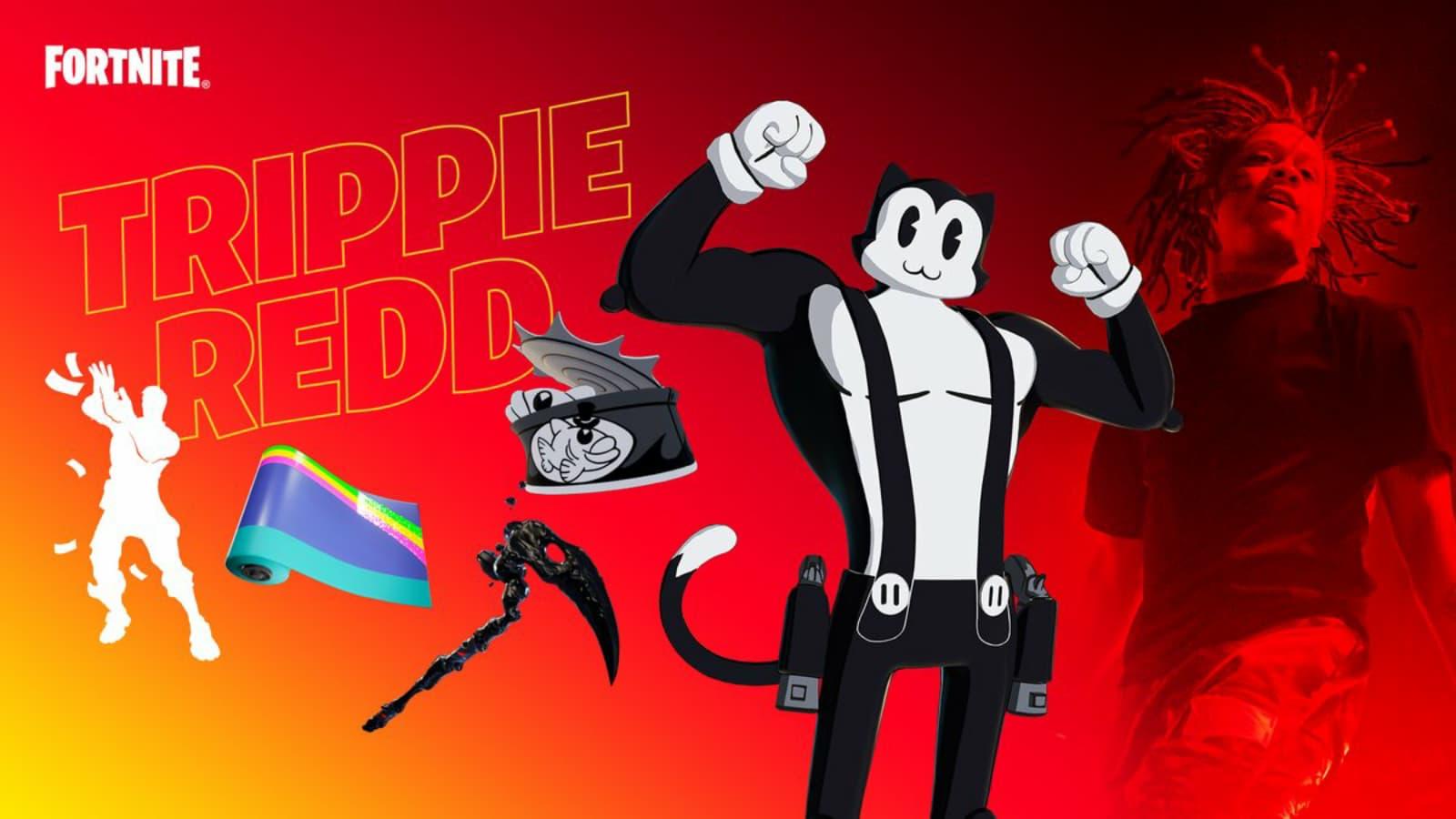 Fortnite Trippie Redd Locker Bundle: How to get in Season 7