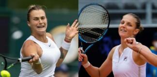 Aryna Sabalenka and Karolina Pliskova