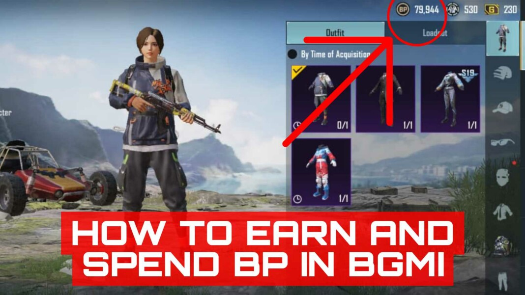 How to earn and spend BP in BGMI?