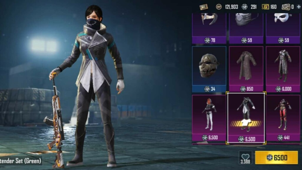 Top 5 outfits to buy using silver fragments in BGMI