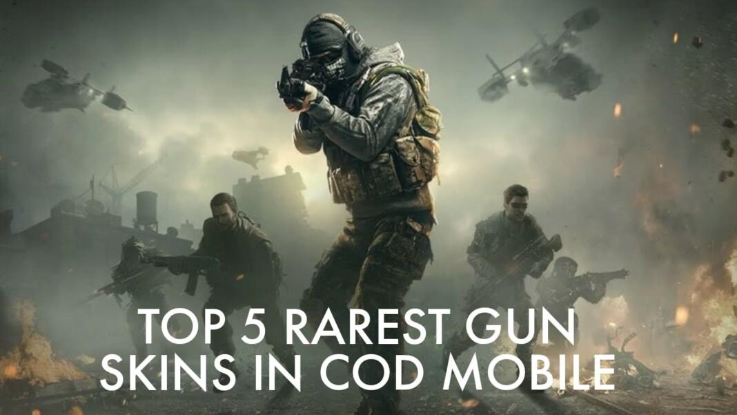 Rarest gun skins in COD Mobile