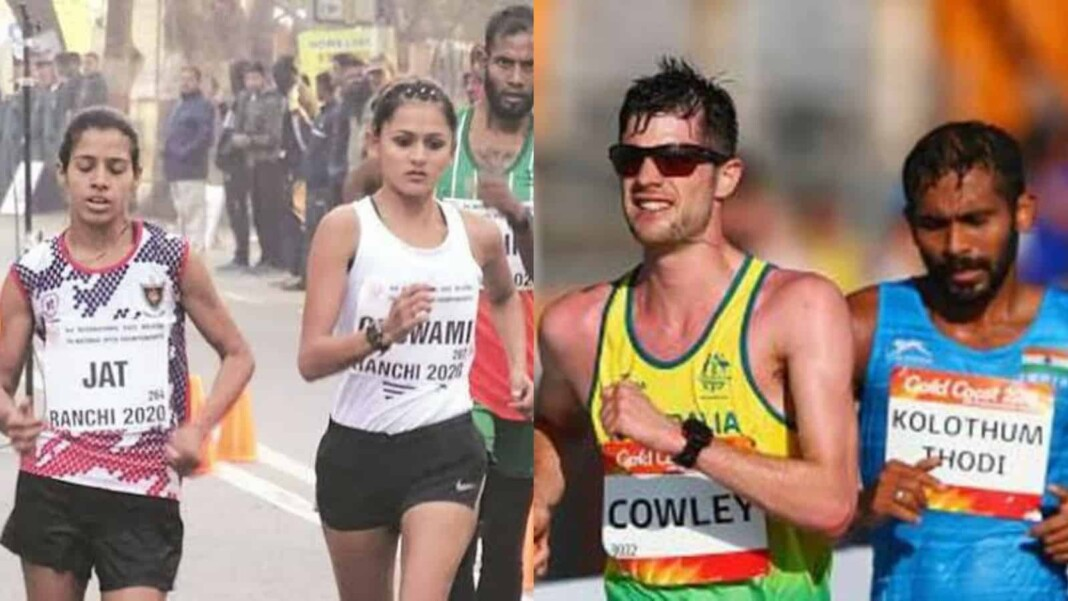 Bhawana Jat and KT Irfan- Tokyo Olympics