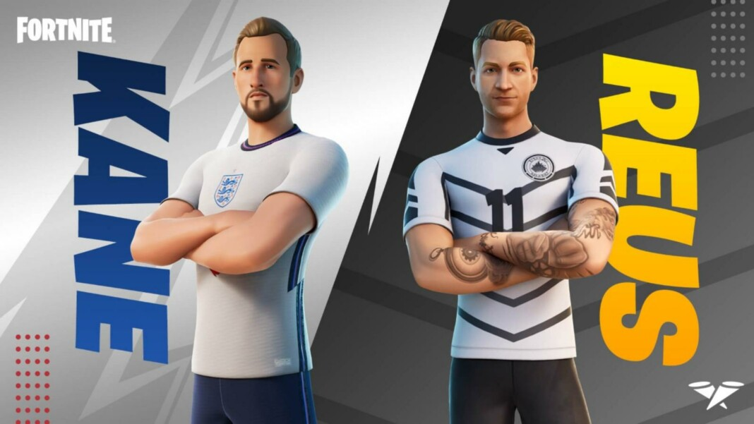 Fortnite Harry Kane and Marco Reus Skins in Item Shop: How to Get It
