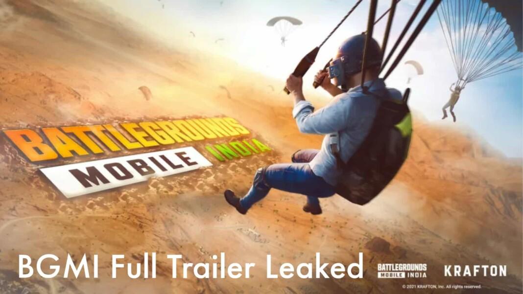 BGMI full trailer leaked