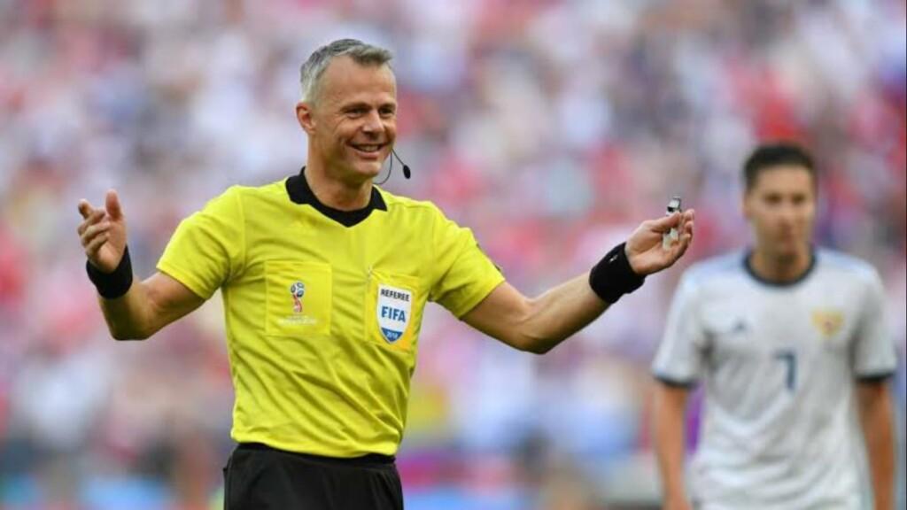 Bjorn Kuipers; Italy vs England