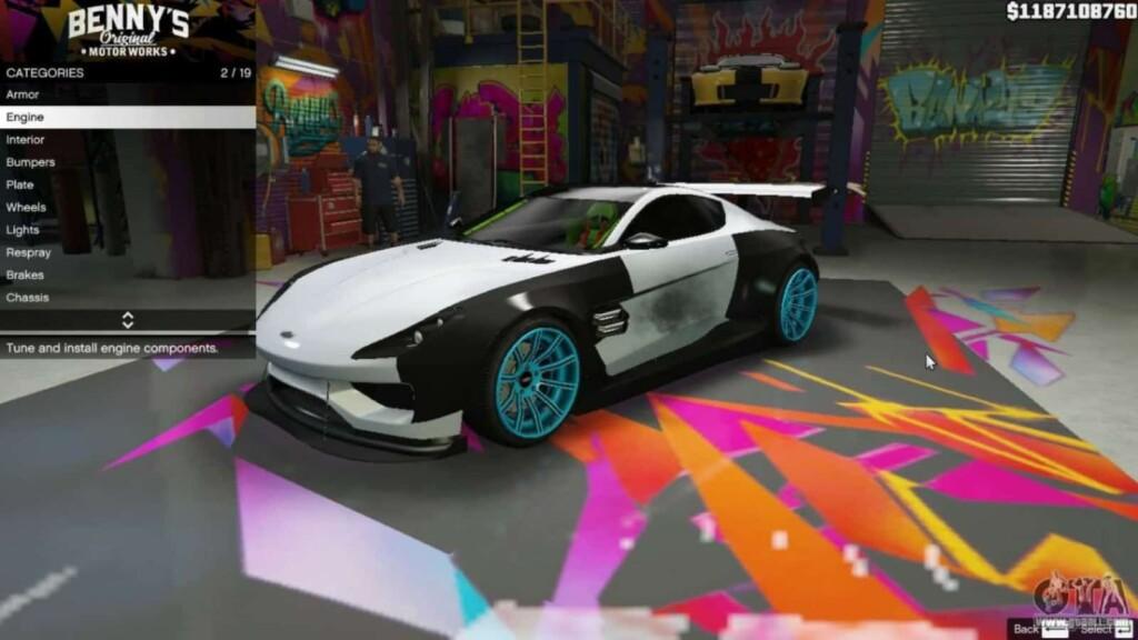 How to get Benny's custom vehicles in GTA 5