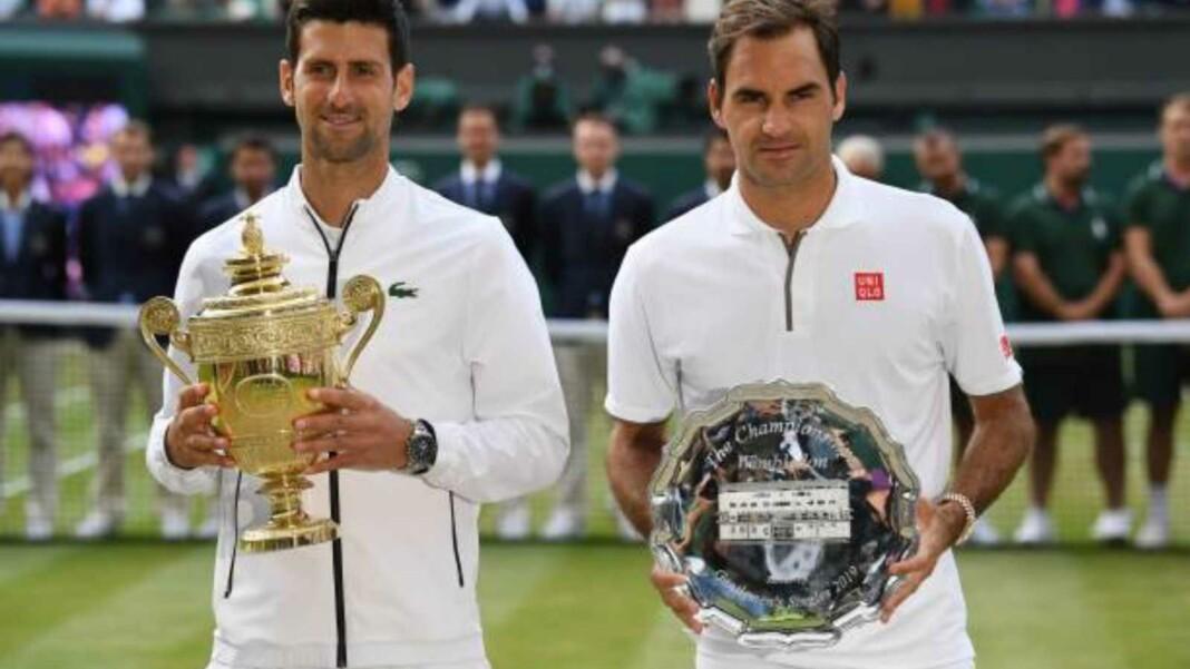 Novak Djokovic vs Roger Federer, Wimbledon final