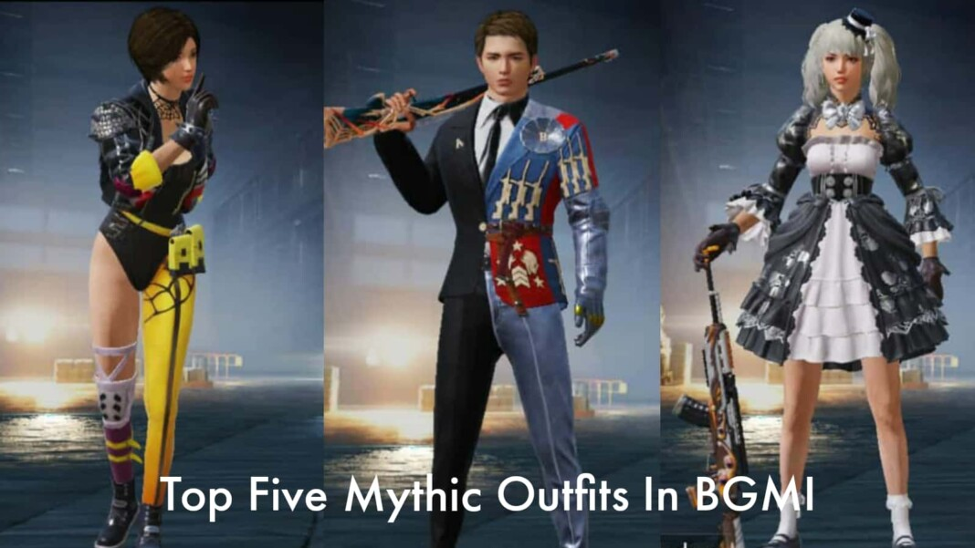 Top 5 mythic outfits in BGMI
