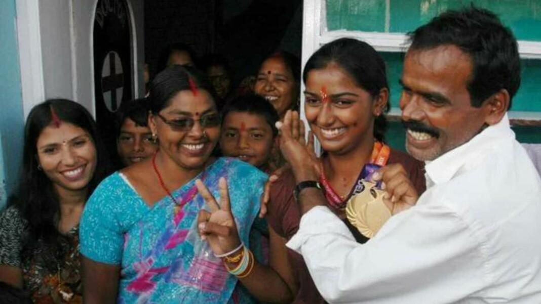 Deepika Kumari parents
