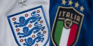 England vs Italy; Twitter