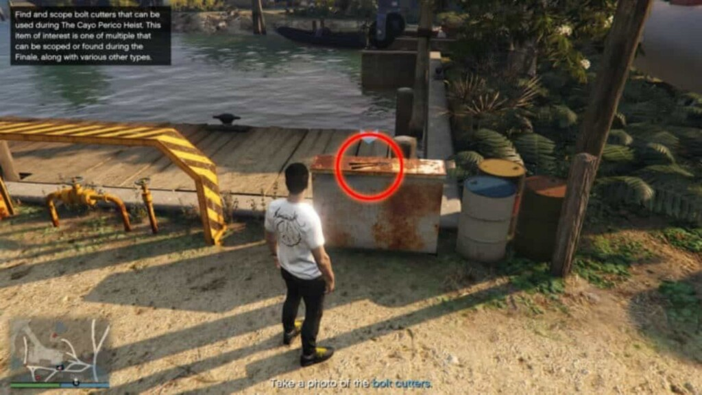 GTA 5: Cayo Perico Scope Out Locations