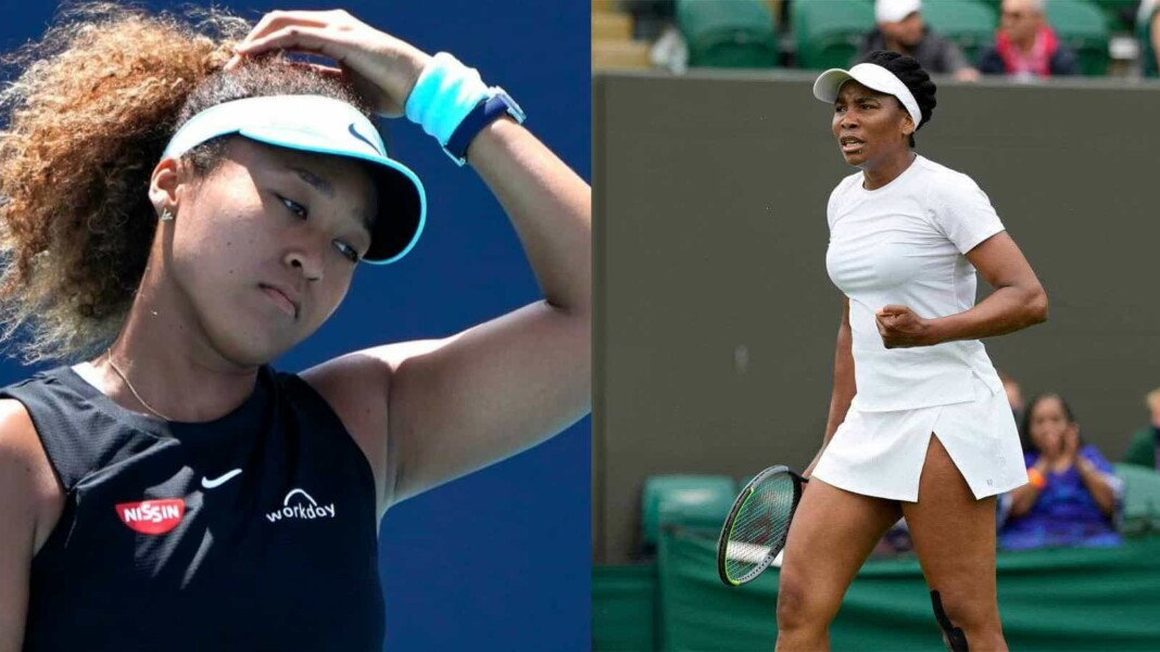Naomi Osaka and Venus Williams