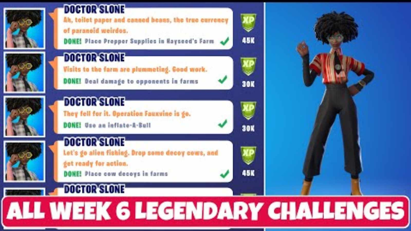 Fortnite Season 7 Week 6 Challenges: New Epic and Legendary Quests Released