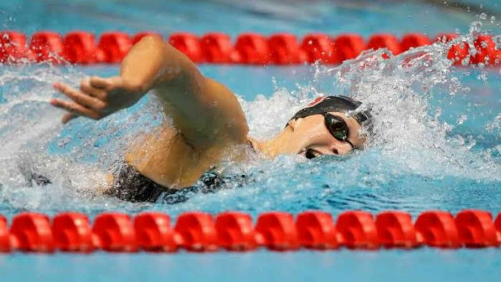 Katie Ledecky Training