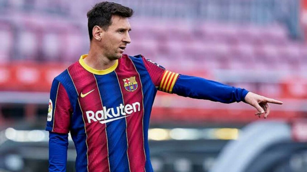Lionel Messi agrees to contract renewal with FC Barcelona
