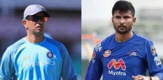 Rahul Dravid and Krisnappa Gowtham