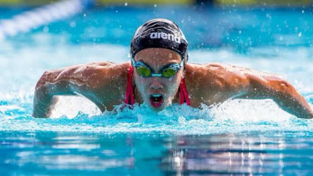 Torri Huske swimming schedule