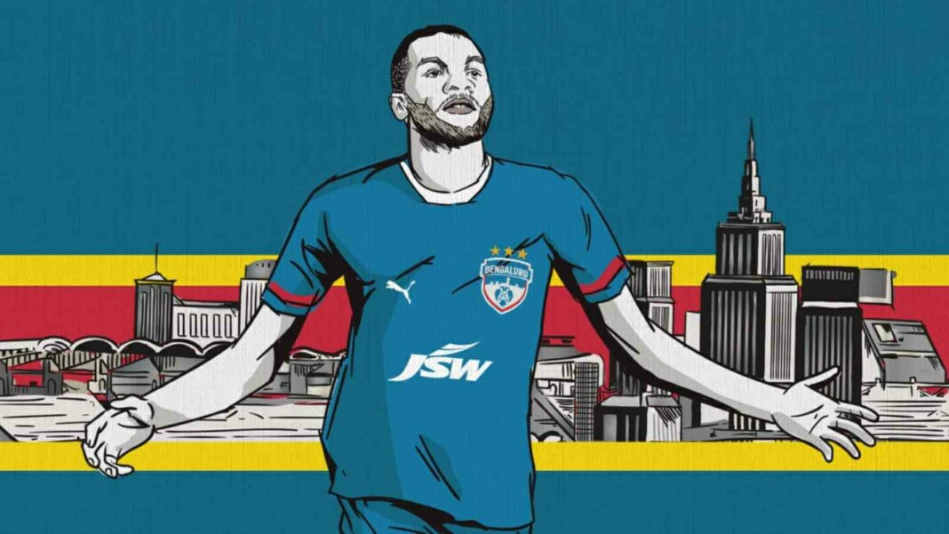 OFFICIAL: Bengaluru FC rope in Congolese striker Prince Ibara